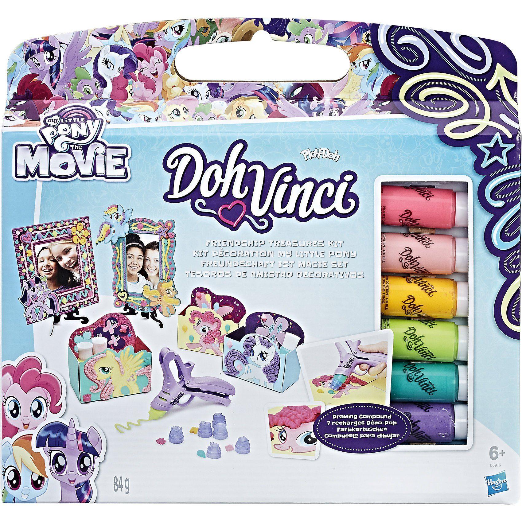 Hasbro DohVinci My Little Pony Freundschaft ist Magie Set