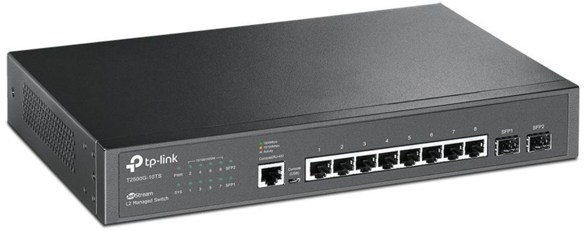 TP-Link Switch »T2500G-10TS 8-Port«