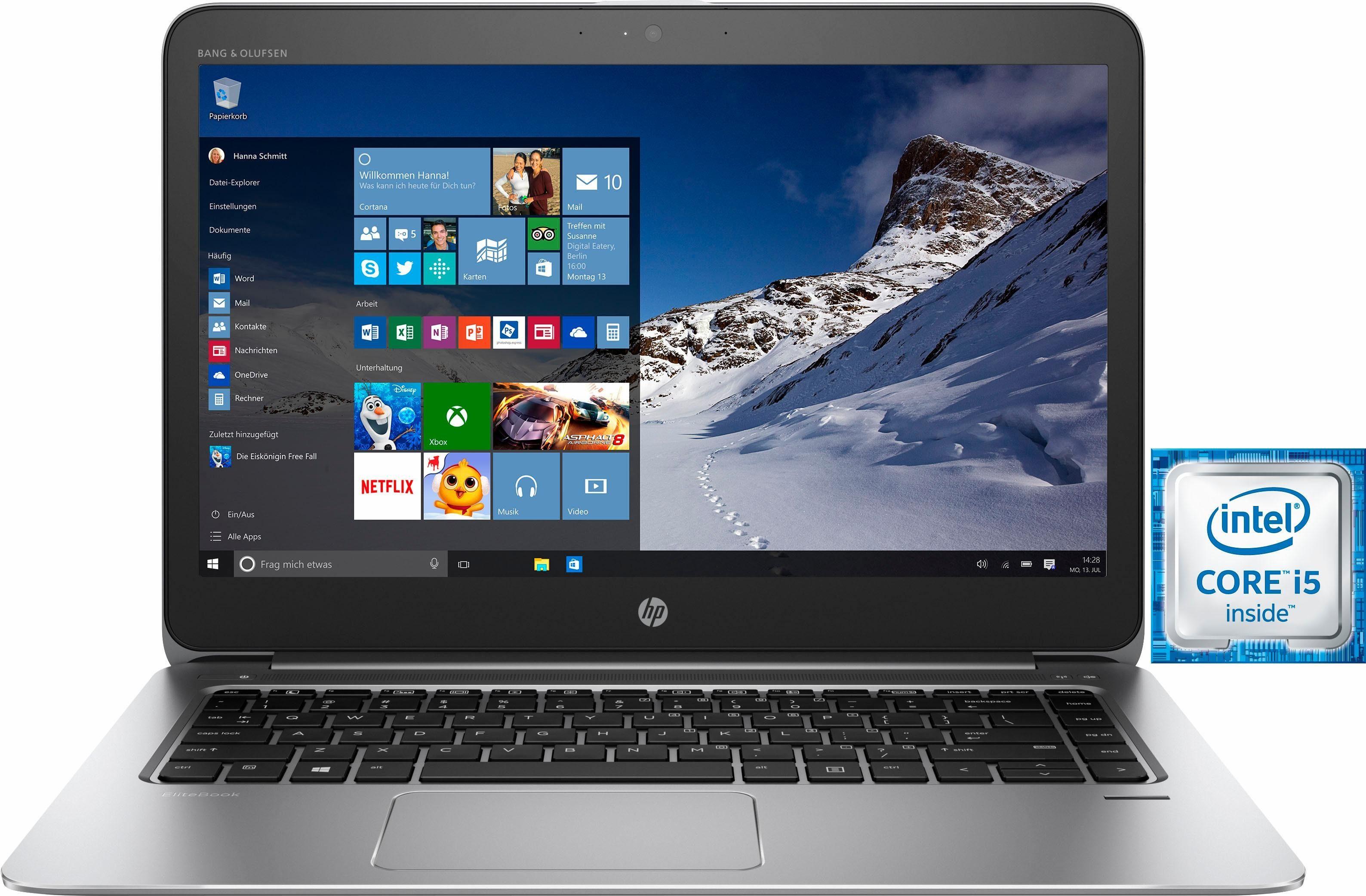 """HP Elitebook 1040 G3 Z2U94ES (14"""" QHD, Intel Core i5-6200U, 256 GB SSD, 8 GB RAM, Win 10 Home)"""