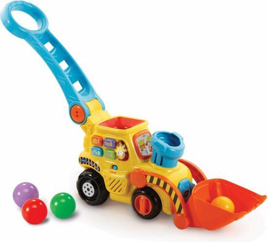 Vtech® Spielzeug-Bagger »Ballspaß Bagger«, zum Schieben