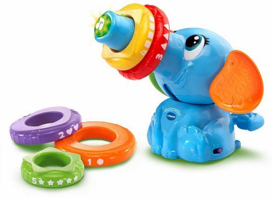 Vtech® Stapelspielzeug »Stapelspaß Elefant«