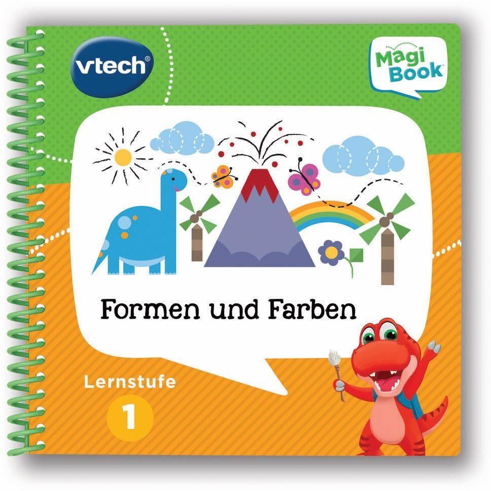 VTech Lernbuch für MagiBook, »Lernstufe 1 - Farben und Formen«