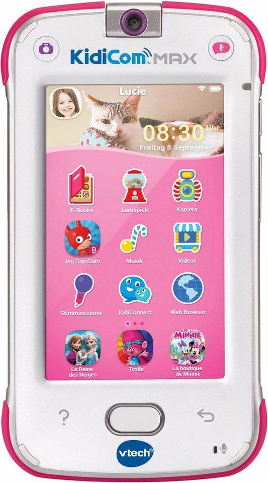VTech Messenger für Kinder, »KidiCom MAX pink« | OTTO