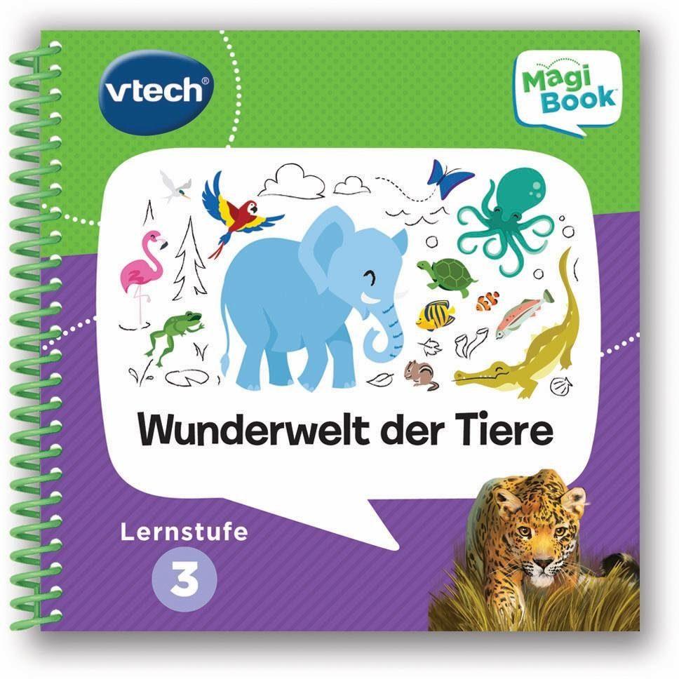 VTech Lernbuch für MagiBook, »Lernstufe 3 - Wunderwelt Tier«