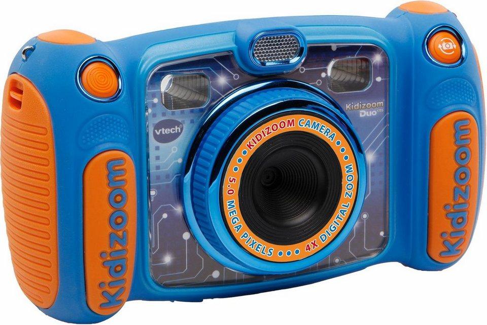 vtech kinder digitalkamera kidizoom duo 5 0 blau online kaufen otto. Black Bedroom Furniture Sets. Home Design Ideas