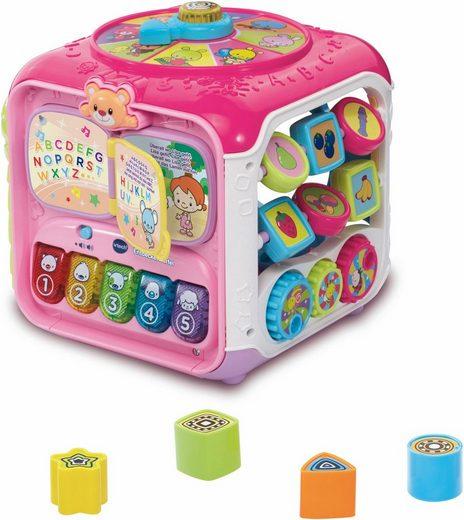 Vtech® Lernspielzeug »Spielwürfel, Entdeckerwürfel, pink«