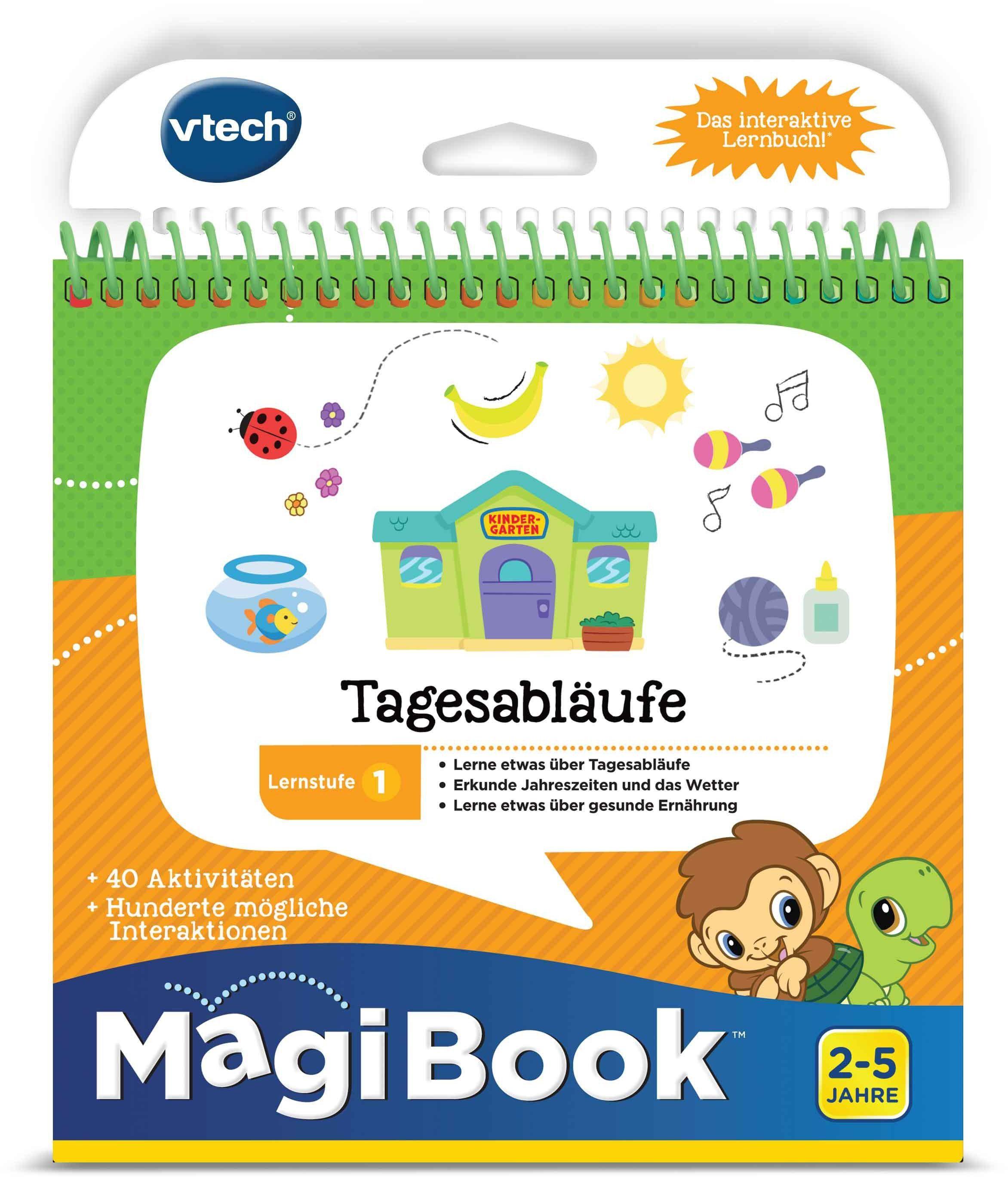 VTech Lernbuch für MagiBook, »Lernstufe 1 -Tagesabläufe«