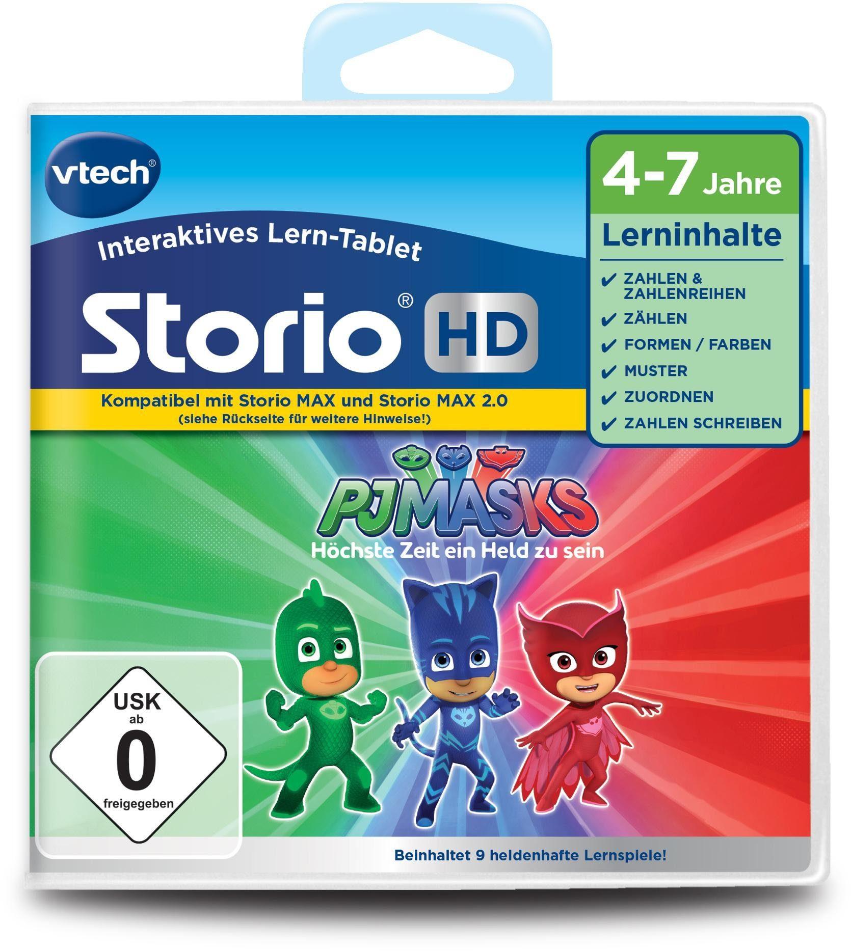 VTech Lernspielkassette für Storio MAX, »PJ Masks HD«