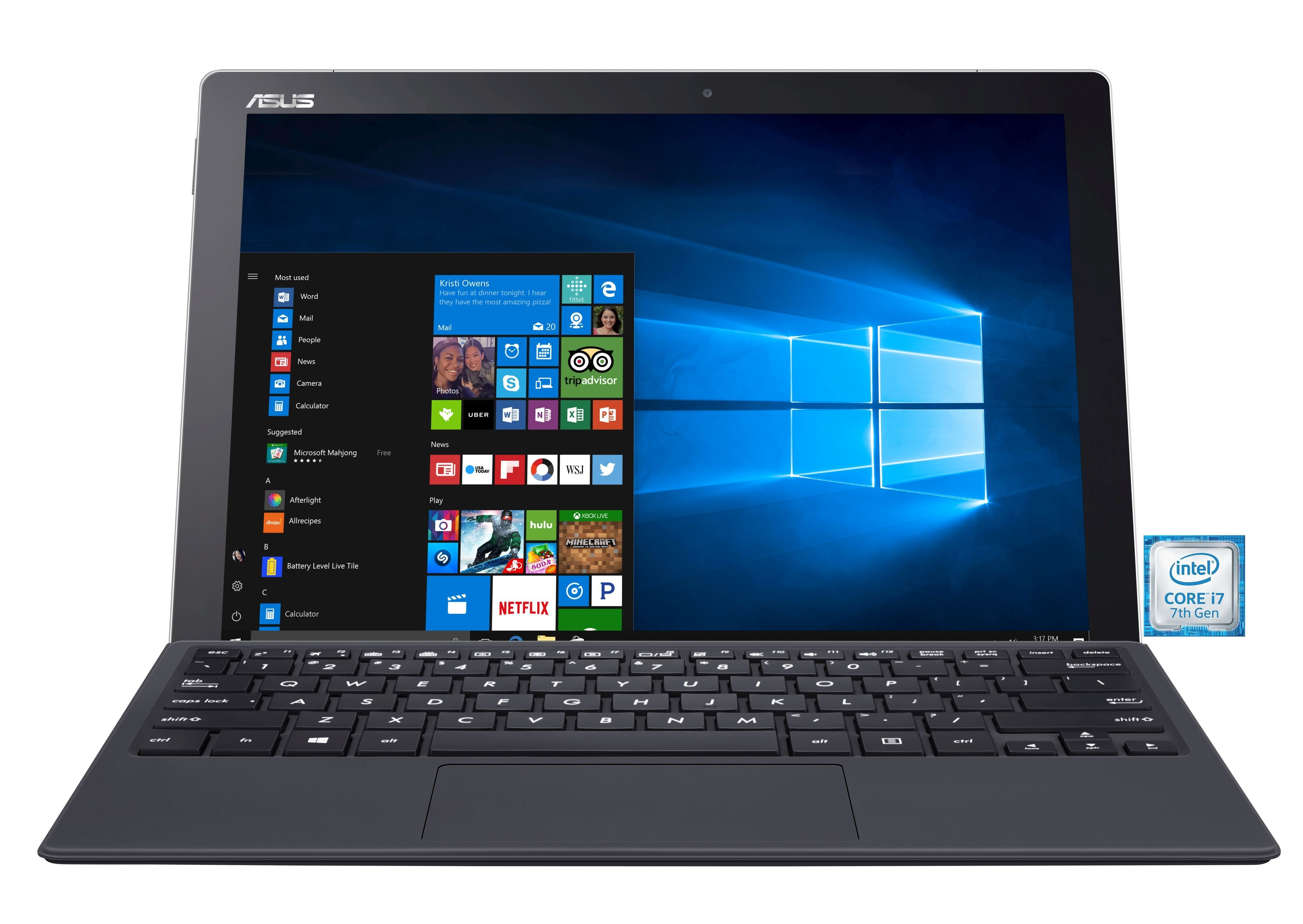 "ASUS Transformer Book T304UA-BC002T 2in1 »Intel Core i7, 32cm (12,6""), 256 GB SSD, 8 GB, Pen«"