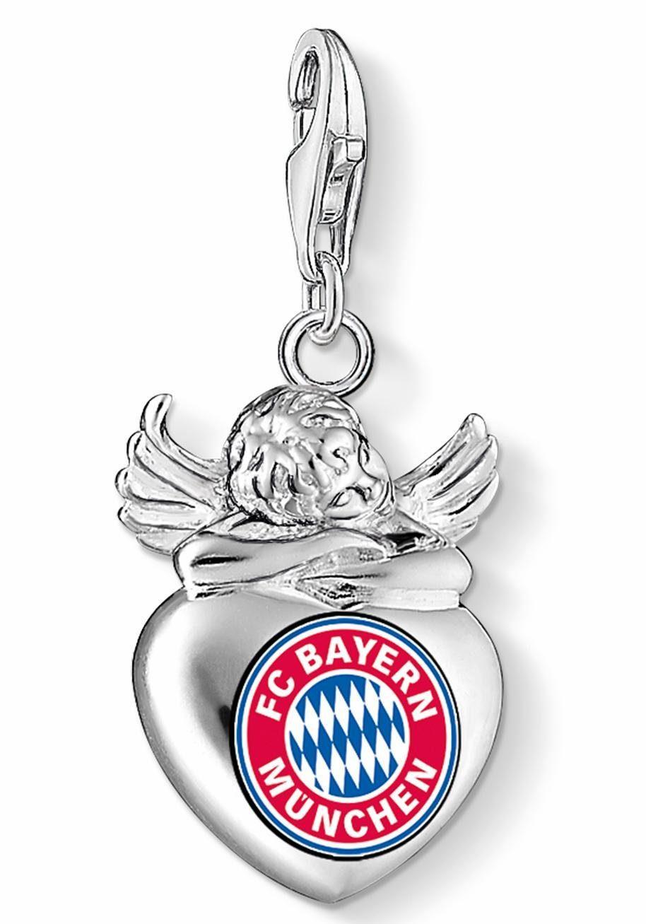 THOMAS SABO Charm-Einhänger »FC Bayern Engel, FCB_0023-603-10«