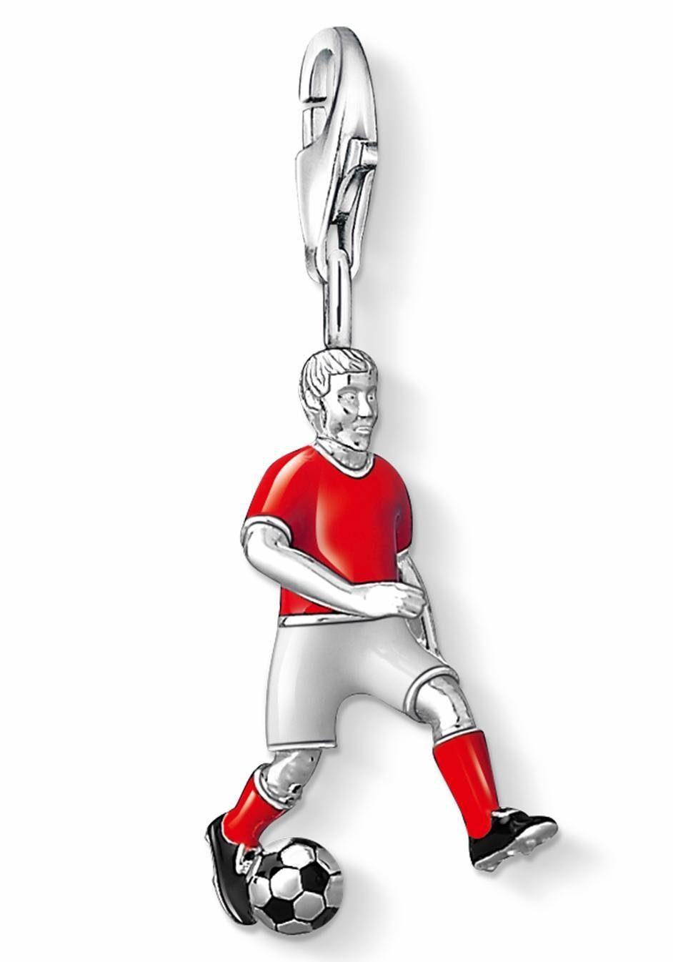 THOMAS SABO Charm-Einhänger »FC Bayern Spieler, FCB_0006-007-10«