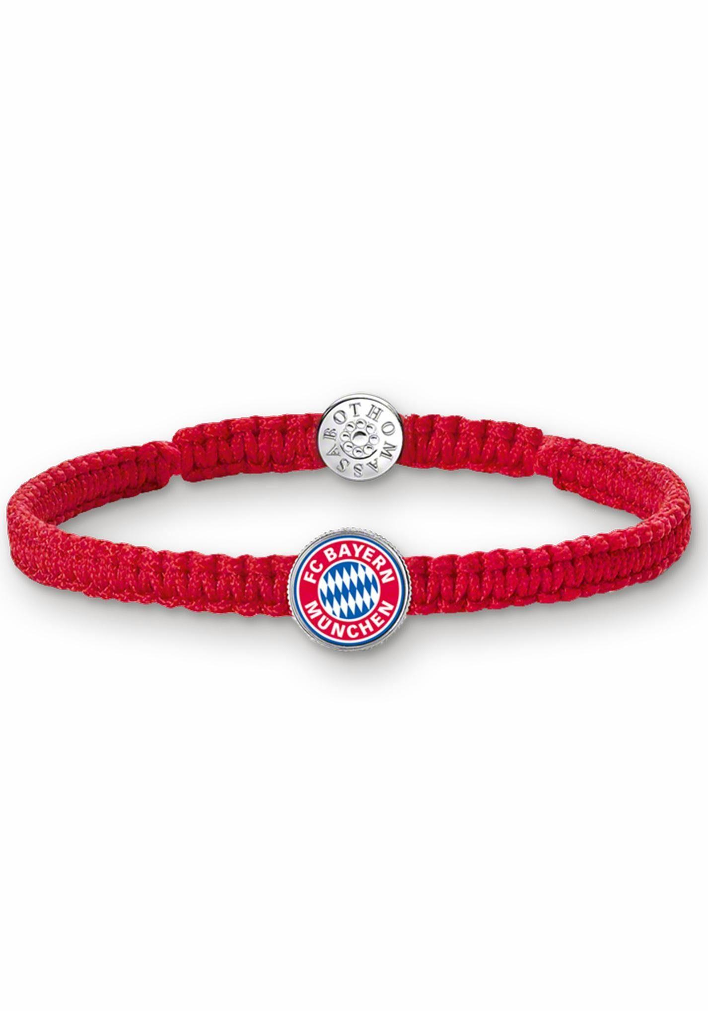 THOMAS SABO Armband »FC Bayern Logo, FCB_X0001-407-10«