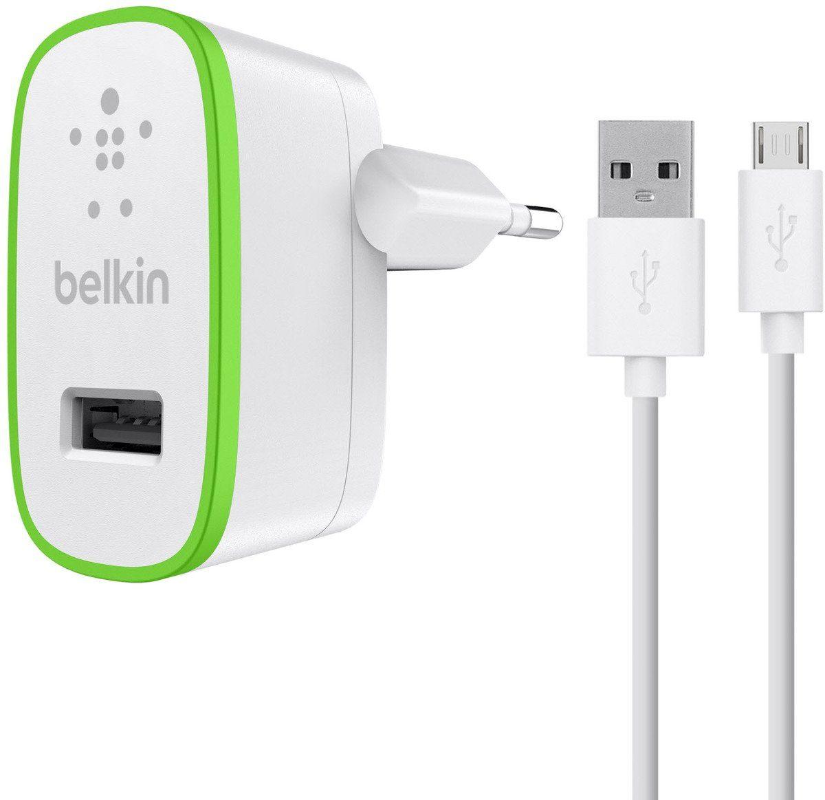 Belkin Lader »Netzladegerät 2,4A + Micro-USB Kabel 1,2m«