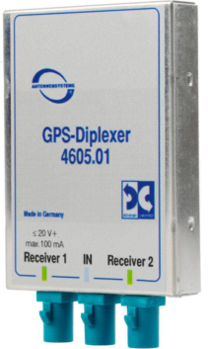 Antenne Bad Blankenburg Zubehör »GPS Signalverteiler (2 Receiver an 1 Antenne)«