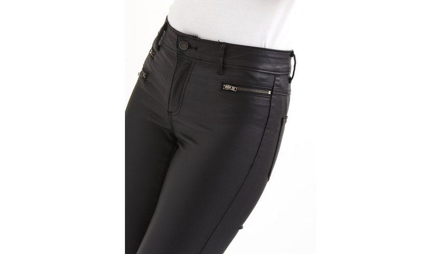 Gefälschte Online Shop-Angebot Online Vila Coated Skinny Fit Jeans Günstig Kaufen Für Schön m9CbPvYOBh