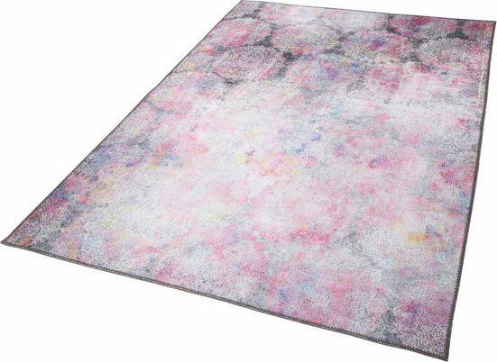 Teppich »Unique 1«, LUXOR living, rechteckig, Höhe 4 mm, Besonders weich durch Microfaser