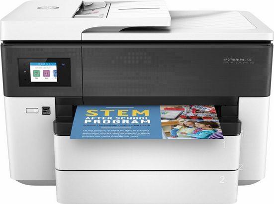 HP Pro 7730 Wide Multifunktionsdrucker, (WLAN (Wi-Fi), LAN (Ethernet), inkl. Office-Anwendersoftware Microsoft 365 Single im Wert von 69 Euro)