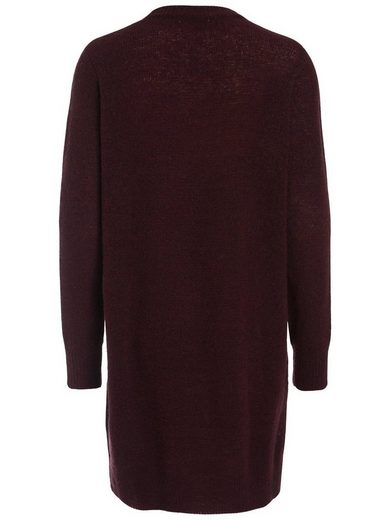 Pieces Langer Woll- Pullover