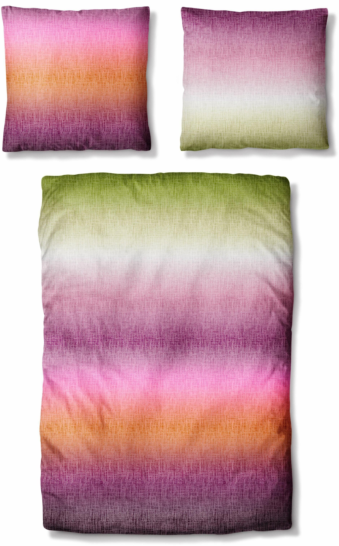 Bettwäsche »Farben«, Auro Hometextile, mit buntem Farbverlauf