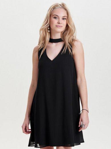 Only Choker Kleid ohne Ärmel