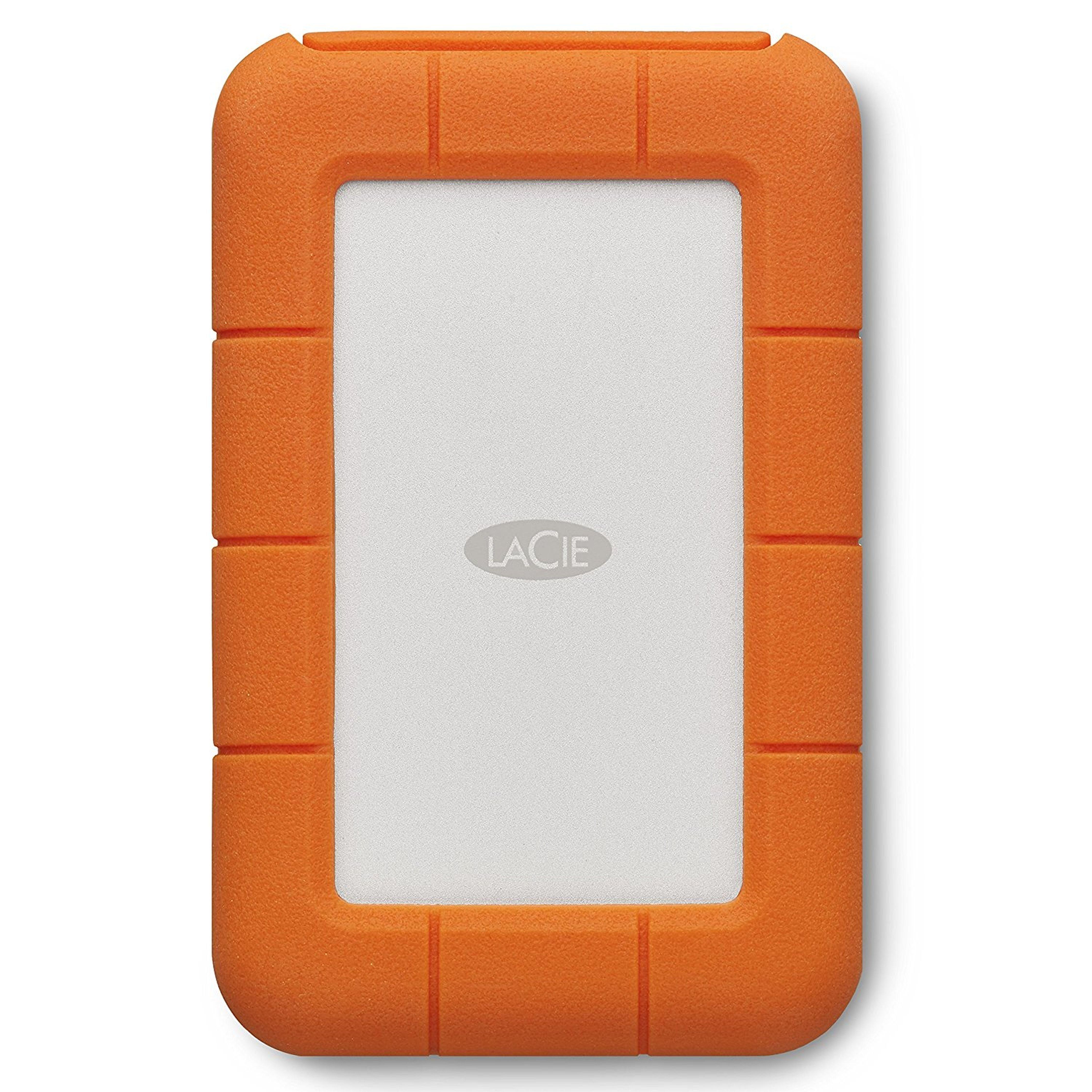 LACIE Rugged Thunderbolt + USB-C externe Festplatte »STFS500400 500 GB SSD«
