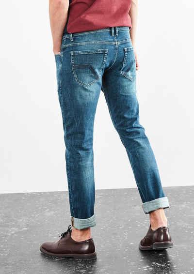 Q/S designed by Rick Slim: Jeans mit Zippertasche Sale Angebote Jämlitz-Klein Düben