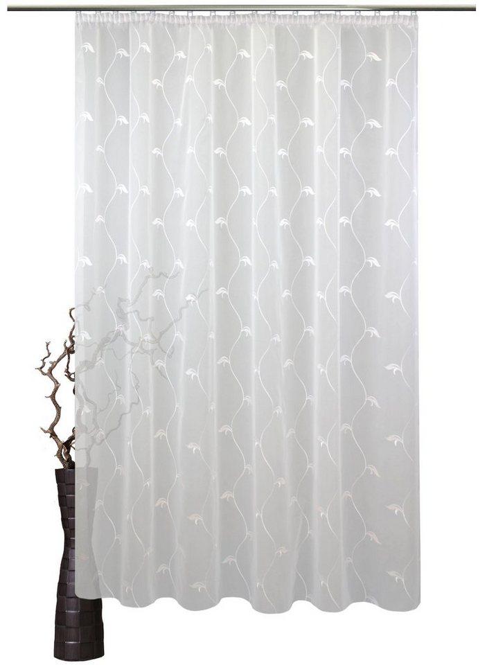 gardine nach ma claire vhg faltenband 1 st ck online kaufen otto. Black Bedroom Furniture Sets. Home Design Ideas