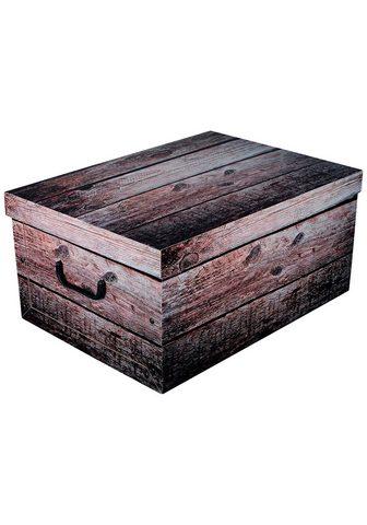 KREHER Ящик для хранения »Shabby Wood&l...