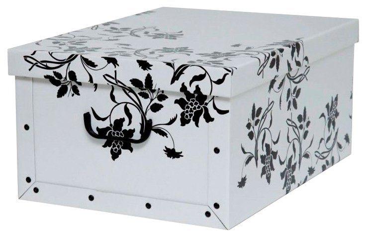 KREHER Aufbewahrungsbox »Barock Weiß«