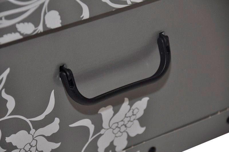 KREHER Aufbewahrungsbox »Barock Grau«