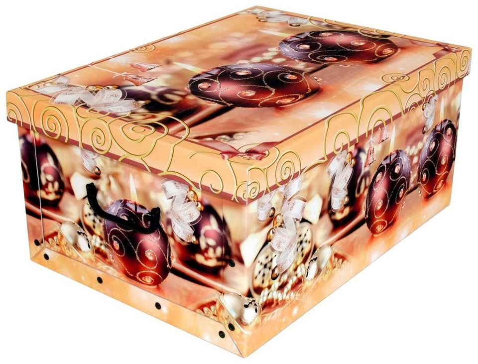 Aufbewahrungsbox Weihnachtskugeln.Kreher Aufbewahrungsbox Weihnachtskugeln Kaufen Otto