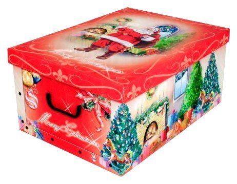 KREHER Aufbewahrungsbox »Weihnachtsmann«