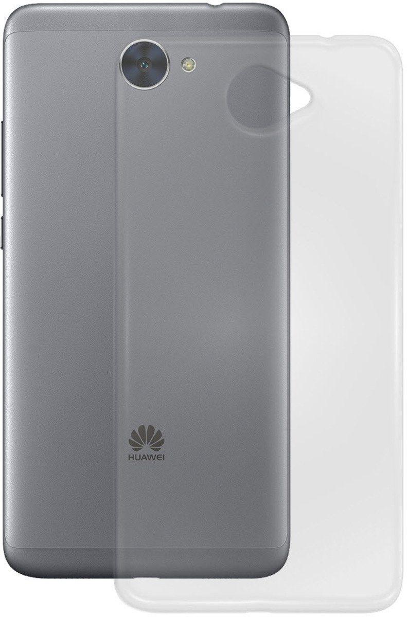 PEDEA Handytasche »Soft TPU Case (glatt) für Huawei Y7«