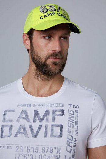 CAMP DAVID Baseball Cap mit Belüftungslöcher
