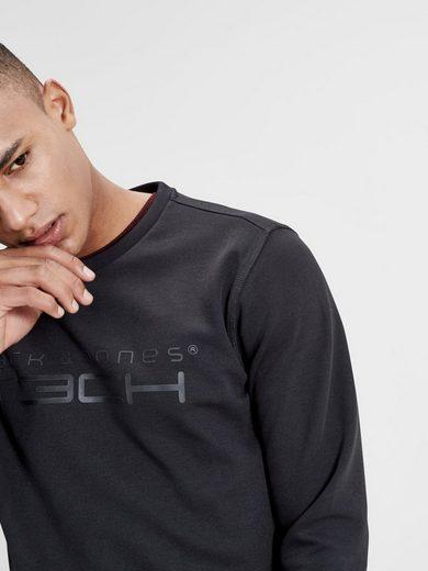 Jack & Jones Tech Print- Sweatshirt