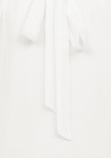 Vivance Blusenshirt, mit gedoppeltem Vorderteil und Schluppe