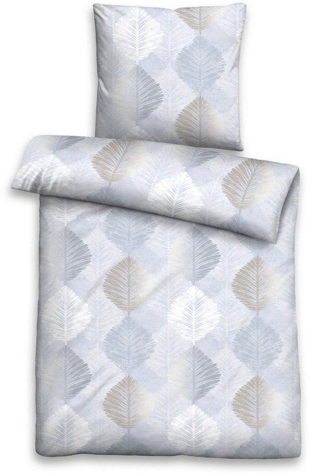 bettw sche robin biberna mit bl ttern kaufen otto. Black Bedroom Furniture Sets. Home Design Ideas