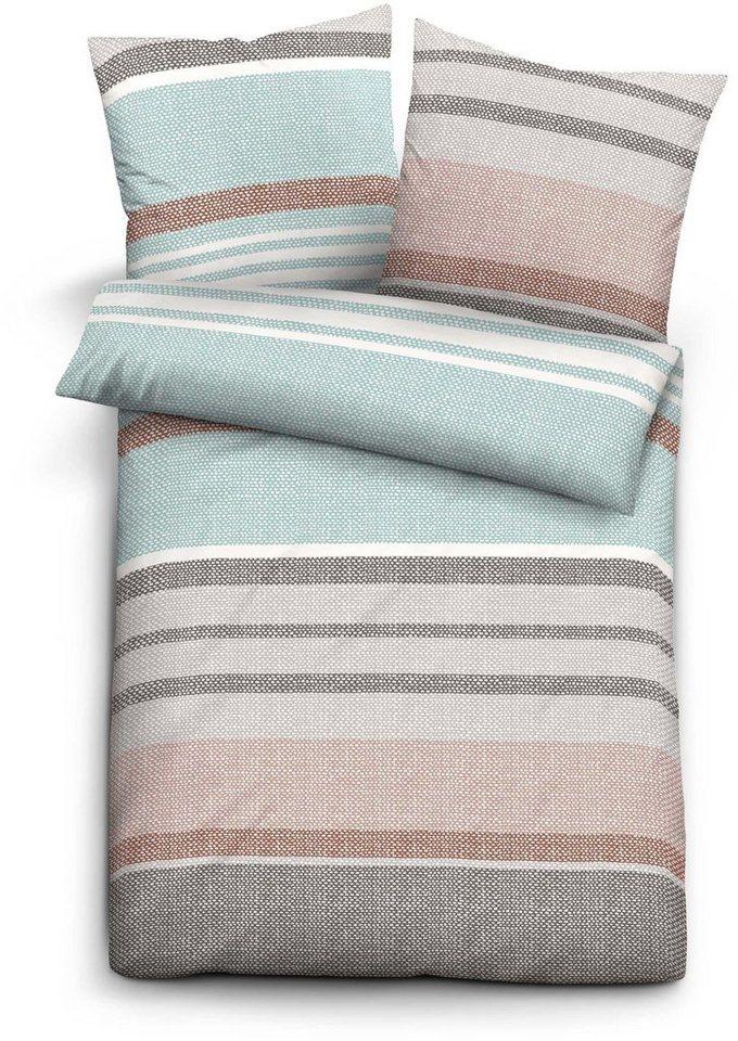 bettw sche levi biberna mit verschiedenen streifen online kaufen otto. Black Bedroom Furniture Sets. Home Design Ideas