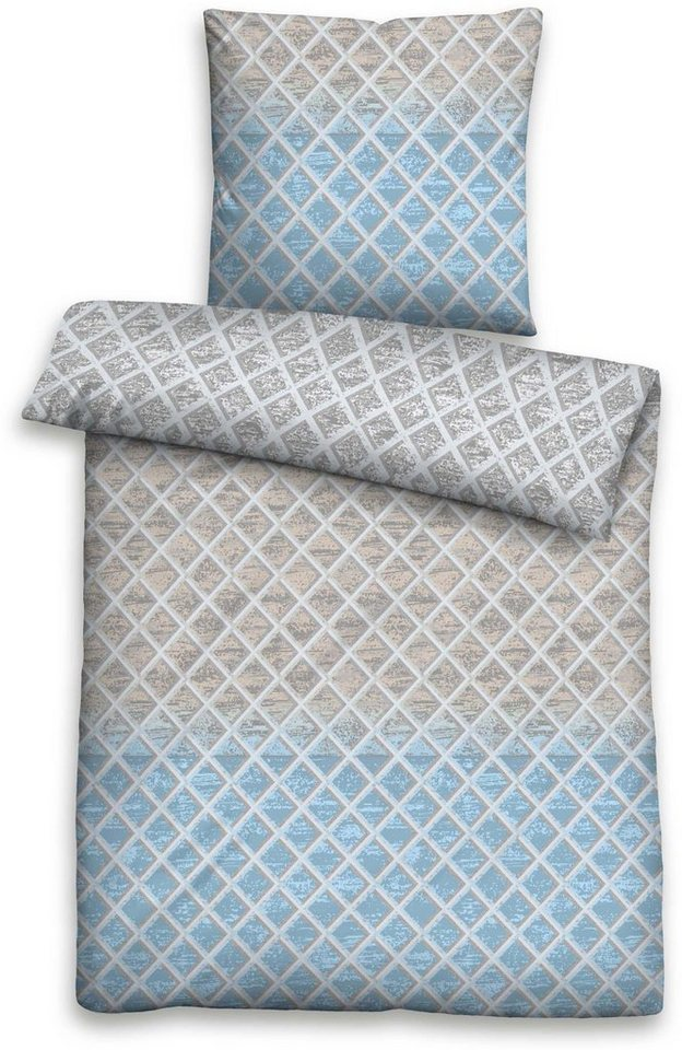 bettw sche laci biberna mit geometrischem muster. Black Bedroom Furniture Sets. Home Design Ideas