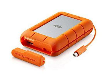 LACIE Rugged Thunderbolt + USB 3.0 externe Festplatte »STFA4000400 4 TB«