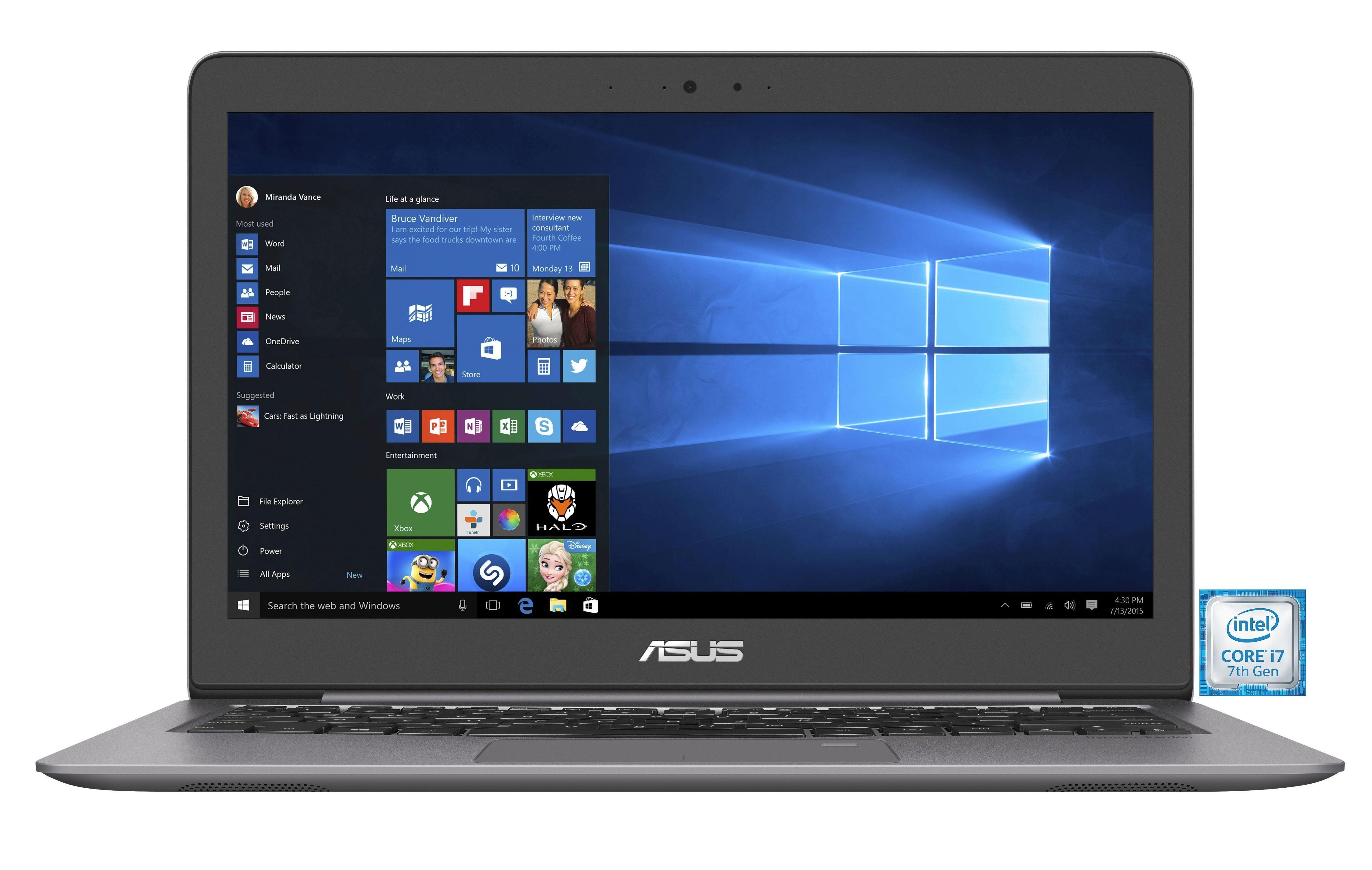 "ASUS UX310UA-FC337T Notebook »Intel Core, 33,7 cm (13,3""), 256 GB, 8GB«"