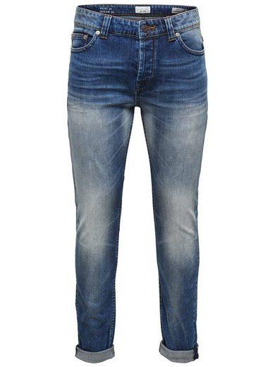 ONLY & SONS Loom Slim-Fit-Jeans im 5-Pocket-Stil