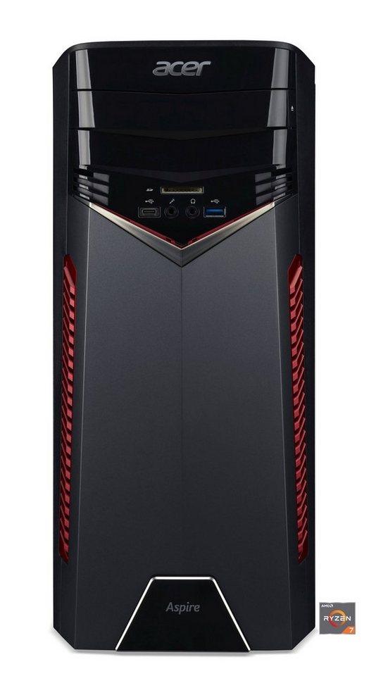 ACER Aspire GX-281 Desktop PC »AMD Ryzen 7, RX 480, 1 TB HDD, 8 GB« - Preisvergleich