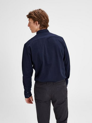 Jack & Jones Button-under- Langarmhemd