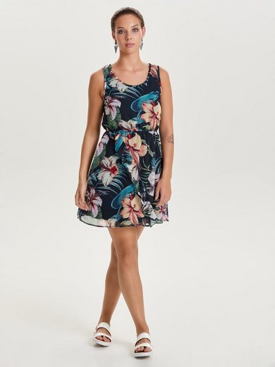 Only Bedrucktes Kleid ohne Ärmel