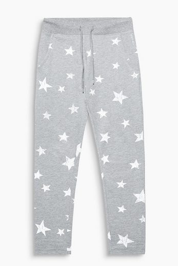ESPRIT Softe Sweat-Pants mit Sternen-Print