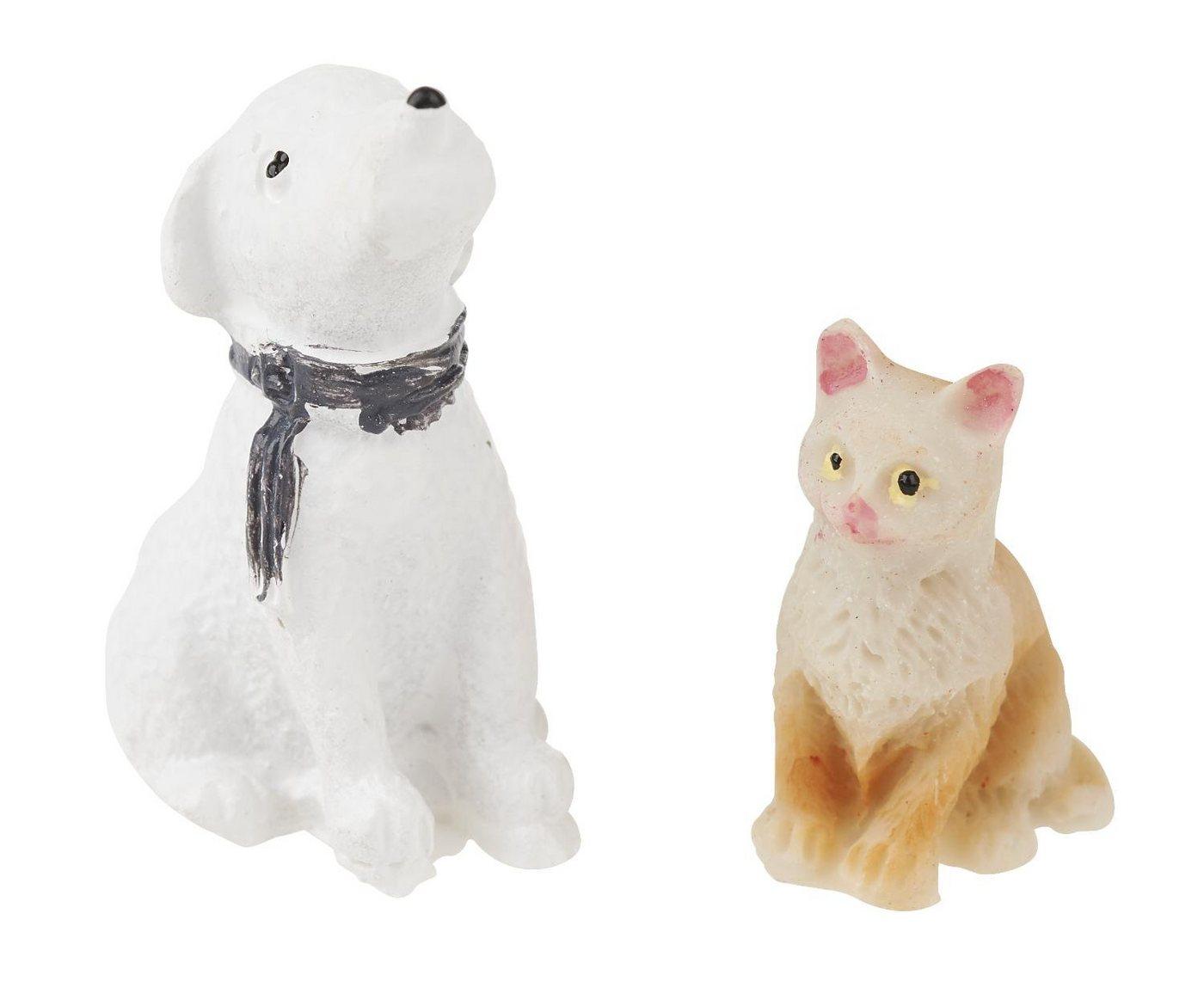 VBS Deko Katze und Hund | Dekoration > Figuren und Skulpturen > Tiere | VBS