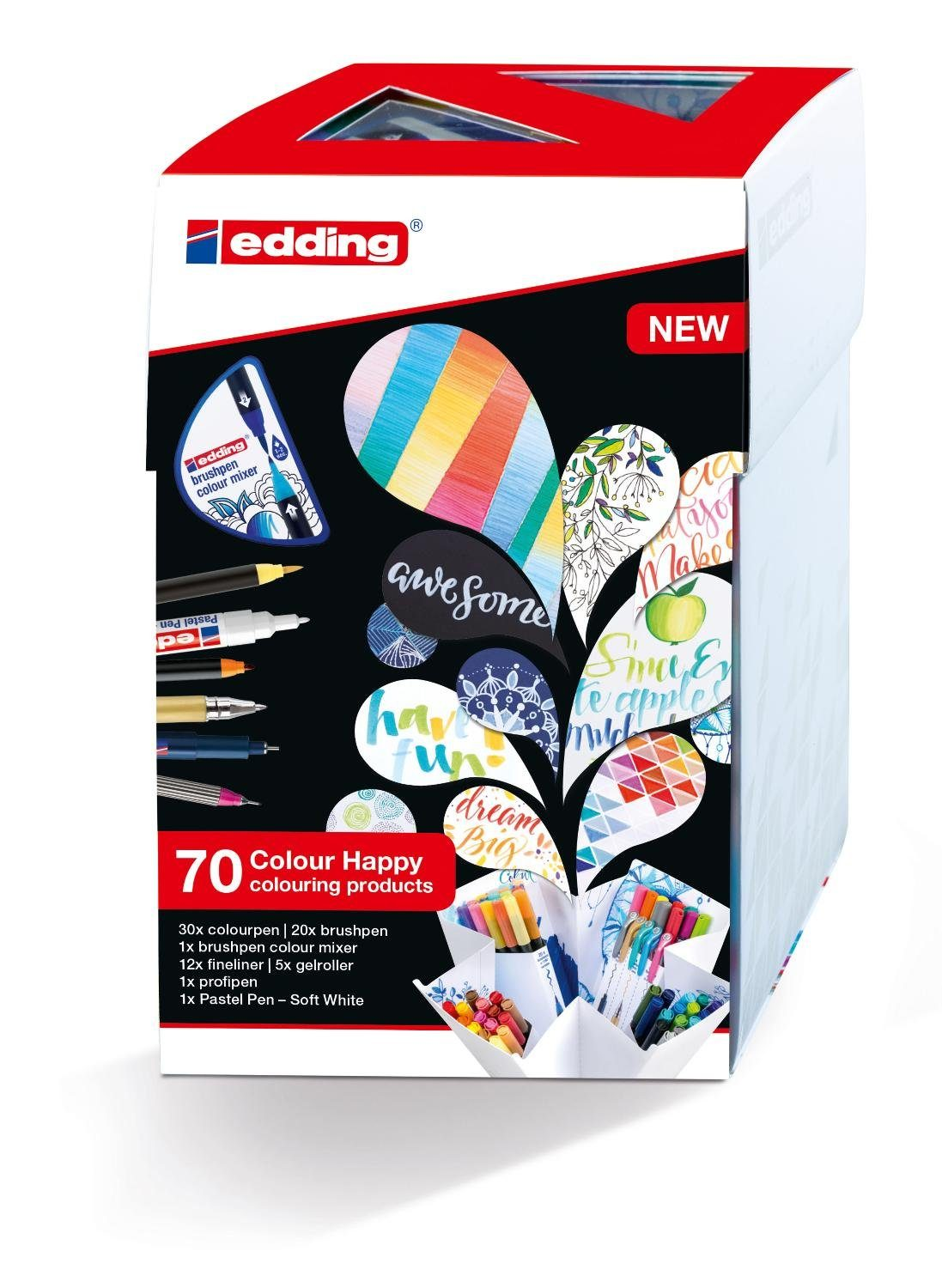 "EDDING Stiftebox ""Colour Happy Big Box"" 70tlg."