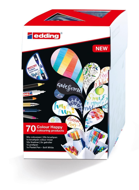 "EDDING Stiftebox ""Colour Happy Big Box"" 70tlg."