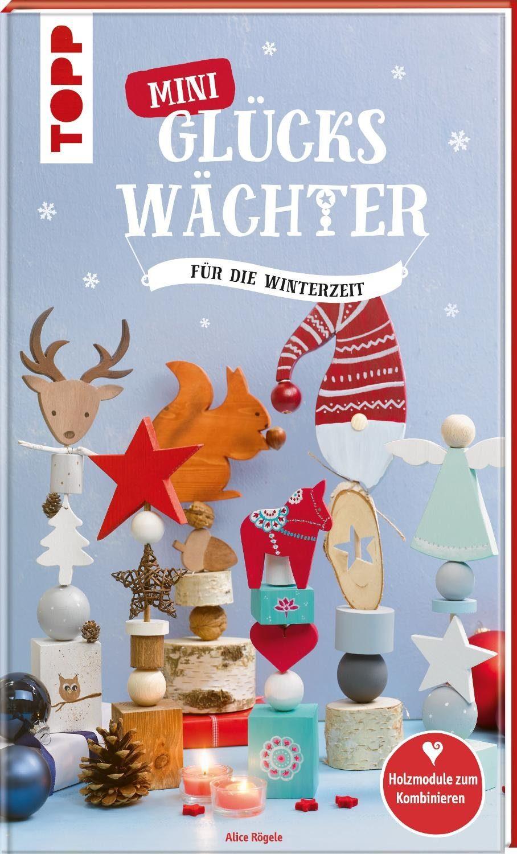 """Topp Buch """"Glückswächter für Weihnachten basteln"""" 64 Seiten"""